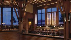 Highlands Bar at Ritz Carlton Lake Tahoe