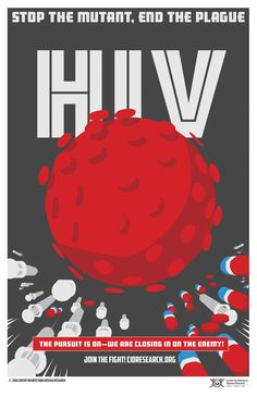 health design Retro Disease Fighting Posters Make Public Health Cool Again Aids Poster, Living With Hiv, Aids Awareness, New Movie Posters, World Aids Day, Poster Drawing, Retro Poster, Comic Book Style, Public Health