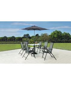 Sicily 6 Seater Patio Set At Argos Co Uk Your Online For Garden Table And Chair Sets Pinterest Patios Gardens