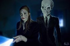 [DOCTOR WHO] Amelia Pond (Amy, played by Karen Gillan) - Amy Pond and the Silence by Lasse17