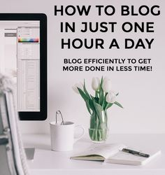Blogging in One Hour a Day via AileenBarker.com