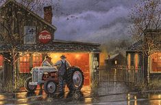 "terry redlin tractor prints | Shop Talk"" - Dave Barnhouse - Country-Art.com"
