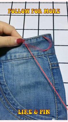 Sewing Basics, Sewing Hacks, Sewing Tutorials, Sewing Crafts, Sewing Projects, Sewing Diy, Diy Projects, Diy Clothes Life Hacks, Clothing Hacks