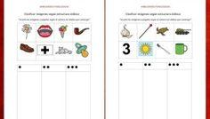 Habilidades fonológicas recorta las imágenes y pégalas según el número de sílabas que contenga
