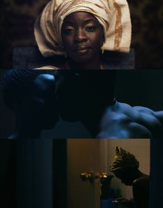 MOTHER OF GEORGE / Dir. Andrew Dosunmu, 2013. DP: Bradford Young.