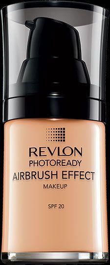 NEW Revlon Photoready Airbrush Effect™ Makeup. PORELESS, AIRBRUSHED LOOK. My Shade: MEDIUM BEIGE.