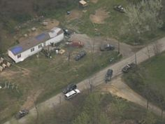 pike county killing images | PIKE COUNTY, OHIO. April 22, 2016. Crime scene tape surrounds a home ...