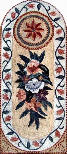 Faux Carpet as Marble Mosaic