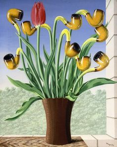 Rene Magritte - The Culture of Ideas  #magritte #paintings #art