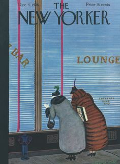 The New Yorker - Saturday, December 5, 1936 - Issue # 616 - Vol. 12 - N° 42 - Cover by : Arnold Hall