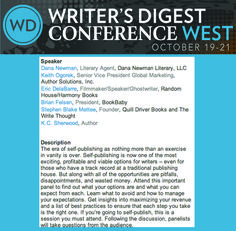Writer's Digest Conference in OCTOBER