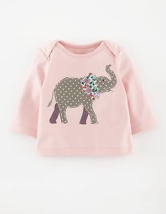 Ex Baby Boden Blue Elephant Tops T Shirts 3-6 12-18 18-24 6-12 2-3yrs Numerous In Variety