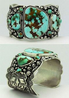 Darryl Sterling silver and Royston Turquoise by sharron