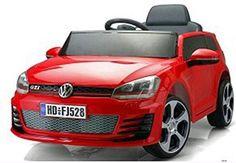 Coche VW Golf GTI rojo 12v mando RC, IndalChess.com Tienda de juguetes online y…