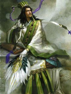 Zhuge Liang Artbook white movi by mollymous.deviantart.com on @deviantART