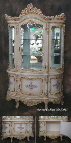 Amazing detail in the Rococo furniture.