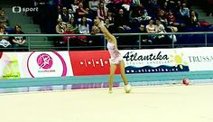 "goddesseswearhalfshoes: "" Ninufar Niftaliyeva (AZB) ball - Grand Prix Brno 2014 """
