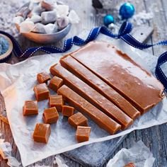 Sweet miso caramels