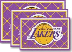Use the code PINFIVE to receive an additional 5% discount off the price of the Los Angeles Lakers NBA Area Rugs at sportsfansplus.com