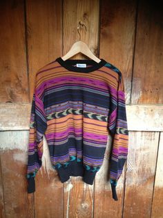 Vintage Southwestern Sweater, Mens M Men Sweater, Pullover, Sweaters, Vintage, Style, Fashion, Swag, Moda, Fashion Styles