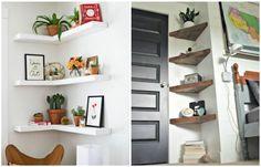 15 стильных идей, как сделать полезными и красивыми все углы в доме. | Colors.life