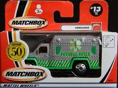 Model Matchbox Ambulance