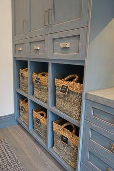Beautifully Blue Playroom - Kuzak's Closet