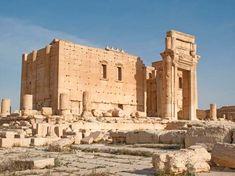 The Temple of Bol, Palmyra, Syria.