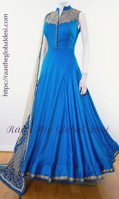 Shop premium range of Anarkali gown online USA,Indian clothes online, Indian dress near me , gown dress , wedding suits long dress and Indian Gowns Dresses, Indian Fashion Dresses, Dress Indian Style, Indian Designer Outfits, Indian Outfits, Brocade Dresses, Ethnic Outfits, Indian Clothes, Fashion Outfits