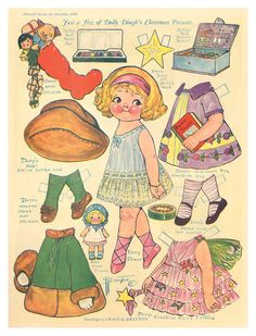Free Printable Paper Dolls Online | FREE printable paper doll from Paperdoll Review!