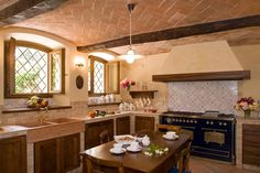SULLE COLLINE REGGIANE: Cucina in stile in stile Rustico di ADS Studio di Architettura