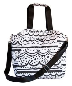 SCOUT by Bungalow Black Crossbody Tote