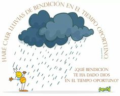 Lluvia de bendiciones Spiritual Guidance, Dear Lord, God Is Good, Words Of Encouragement, Bible Quotes, Gods Love, Pray, Spirituality, Salvador