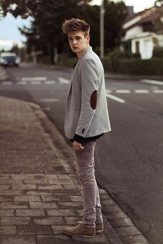 PADDED JACKET, ZARA, in ZARA OUTERWEAR  TROUSERS, CHEAP MONDAY, in CHEAP MONDAY PANTS  DESERT BOOTS, FRANK WRIGHT , in BOOTS