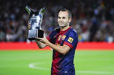 Iniesta to play 600th game for Barca   Barcelona boss Luis Enrique lauded Andres Iniestas behaviour as well as his ball skills ahead of the midfield maestros 600th Barca game at Celta Vigo on Sunday.  Along with Lionel Messi Iniesta is Barcelonas most decorated player ever with 29 trophies but is even more loved across Spain for his winning goal in the 2010 World Cup final.  Iniesta is second behind only former teammate Xavi Hernandez as the player to make most Barca appearances.  Naija News…