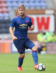 Luke Shaw back from injury against Wigan Athletic.