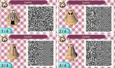 Supernatural Castiel Animal Crossing New Leaf QR Codes | Castiel from SupernaturalThis is my first design, be gentle with me ...