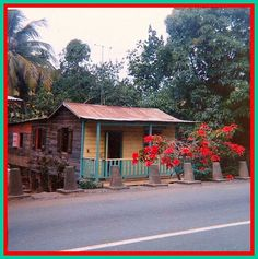 Casita Tipica de Puerto Rico - 1960's      Typical House in Puerto rico 1960's by juliealicea1947