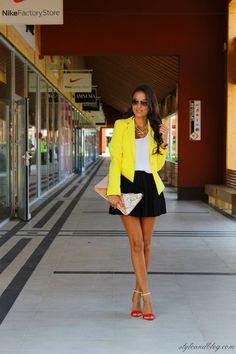 New Fav: Yellow Blazer #