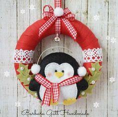 Guirlanda pinguim natal