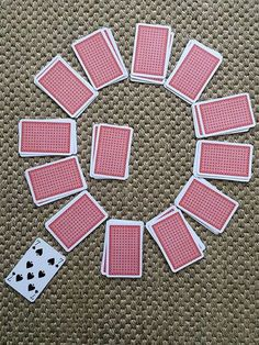 Clock Card Game Nanny Anita explains how to play popular card game Clock Patience. She will also be teaching other card games, including Beggar My neighbour, Go Fish, Rummy, and Spoons. Dice Games, Activity Games, Math Games, Fun Activities, Games To Play, Therapy Activities, Family Card Games, Fun Card Games, Card Games For Kids