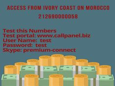 Get best deals of the moment on premium rate numbers from Morocco