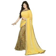 http://www.mirraw.com/designers/unique-fashion/designs/yellow-printed-georgette-saree-with-blouse-georgette-saree--1400