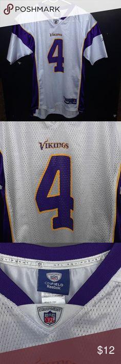 ☄BOGO FREE☄ Vikings jersey Minnesota Vikings jersey, size large. Reebok Tops