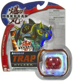 "Hylash (Pyrus) - Bakugan Trap New Vestroia Series - "" NOT Randomly Picked"", Sold As Shown In The Picture! (C45888) by Spin Master. $4.99. Include 1 Bakugan Trap, 1 Ability + 1 Metal Gate Card.. Warning! Risk of serious digestive injuries in the event that magnets are swallowed!. For age 5 and up. Boost your attack!. Bakugan Trap are special Bakugan with unique shapes. They can be used in combination with regular Bakugan for more strategic battles and more powerful attack..."