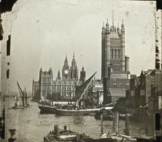 The Thames of Old London in the 1910s and 1920s