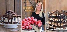 Oh my God kake - En helt fantastisk festkake - Franciskas Vakre Verden Secret Photo, Rum Balls, Send Flowers, Balls Recipe, Raspberry, Dinner Recipes, Paleo, Food And Drink, Sweets