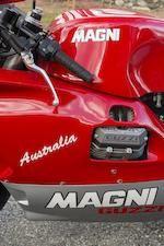 One of only 50 made,1998 Magni Australia 992cc Moto Guzzi Frame no. ZA9G5AKL1VSF69099