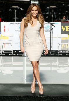 Jennifer Lopez has a pear shaped body
