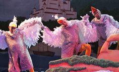 The Little Mermaid (Disney's) Little Mermaid Broadway, Little Mermaid Play, Little Mermaid Costumes, Ariel Mermaid, Mermaid Disney, Broadway Costumes, Gulls, Theatrical Makeup, Disney Shows